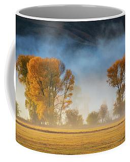 Colorado Autumn Fog Coffee Mug