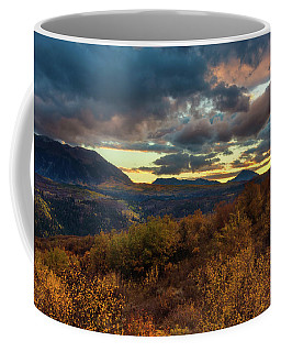 Coffee Mug featuring the photograph Colorado Cloudscape by John De Bord