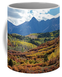 Coffee Mug featuring the photograph Colorado Color Bonanza by James BO Insogna