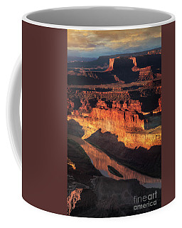 Coffee Mug featuring the photograph Colorado River Flow by Scott Kemper