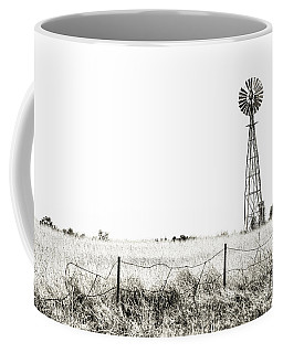 Coffee Mug featuring the photograph Colorado Windmill by Andy Crawford