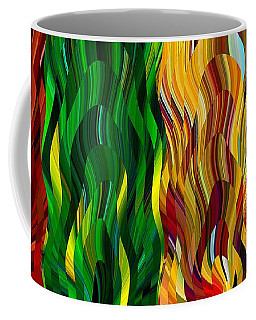 Colored Fire Coffee Mug