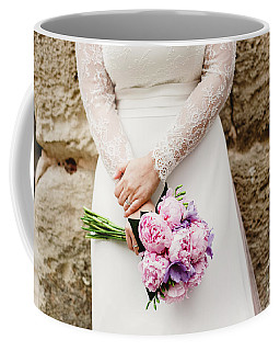 Colorful Bridal Bouquets With Flowers Coffee Mug