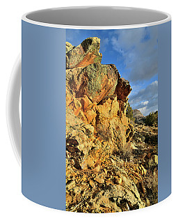 Colorful Crags In Colorado National Monument Coffee Mug