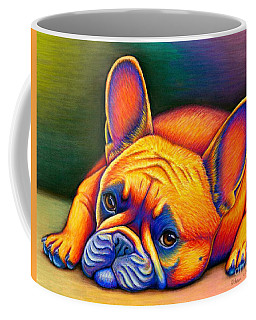 Daydreamer - Colorful French Bulldog Coffee Mug