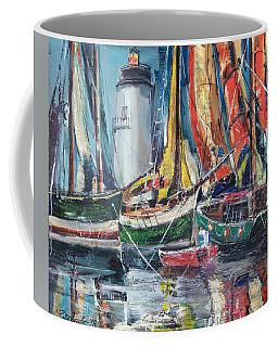 Colorful Harbor Coffee Mug