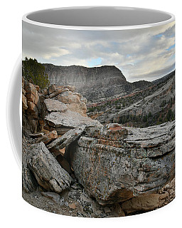 Colorful Overhang In Colorado National Monument Coffee Mug