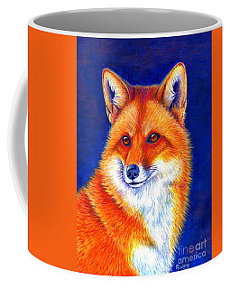 Colorful Red Fox Coffee Mug