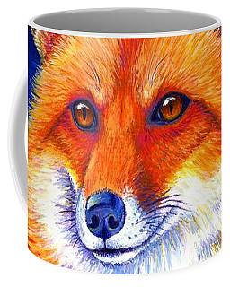 Colorful Red Fox Coffee Mug