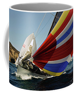 Colorful Spinnaker Run Coffee Mug