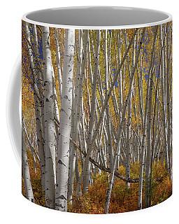 Colorful Stick Forest Coffee Mug