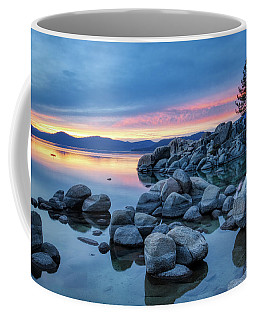 Colorful Sunset At Sand Harbor Coffee Mug