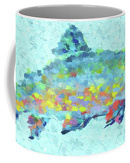 Colorful Trout Coffee Mug