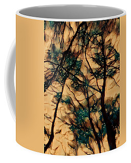 Coffee Mug featuring the digital art  Colors And Spirit  by Lucia Sirna