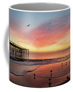 Coffee Mug featuring the photograph Colors Of Dawn by Robert Banach