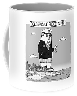 Colossus Of Rhone Island Coffee Mug