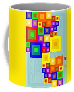 Colourful Cubism  Coffee Mug
