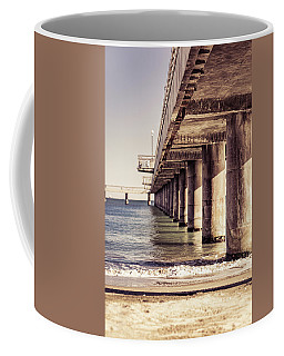 Columns Of Pier In Burgas Coffee Mug