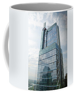 Coffee Mug featuring the photograph Comcast Technology Center - Philadelphia by Bill Cannon