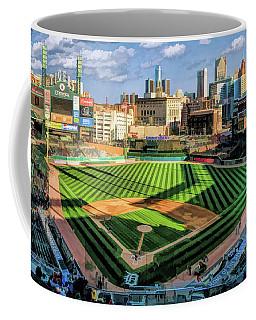 Comerica Park Detroit Tigers Baseball Ballpark Stadium Coffee Mug