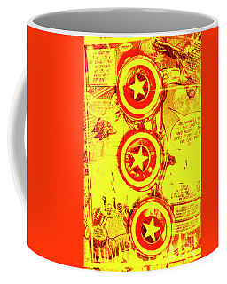 Comic Book Composite Coffee Mug