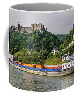 Commerce Along The Rhine Coffee Mug