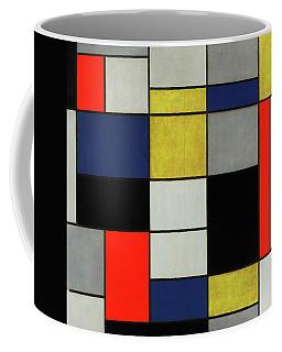 De Stijl Coffee Mugs