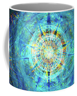 Coffee Mug featuring the digital art Concentrica by Kenneth Armand Johnson