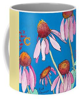 Yellow Coneflowers Coffee Mug