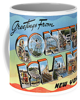 Coney Island Greetings - Version 2 Coffee Mug