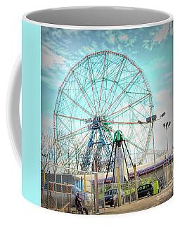 Coney Island Wonder Wheel Ny Coffee Mug