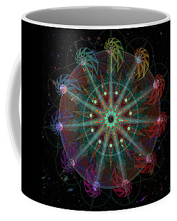 Coffee Mug featuring the digital art Conjunction by Kenneth Armand Johnson