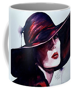Coffee Mug featuring the painting Contrasts by Michal Madison