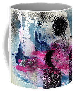 Coffee Mug featuring the painting Convergence  by 'REA' Gallery
