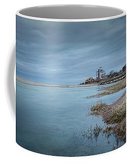 Cool Blue At Good Harbor Coffee Mug