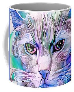 Cool Blue Cat Coffee Mug