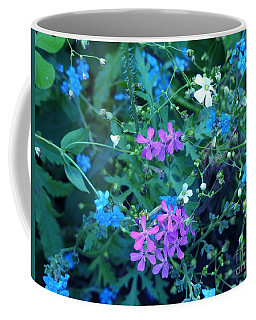 Coffee Mug featuring the photograph Cool Bouquet by Rosanne Licciardi