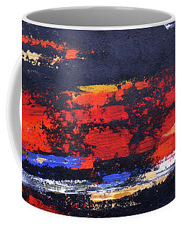 Coffee Mug featuring the painting Cool Breeze  by Arttantra