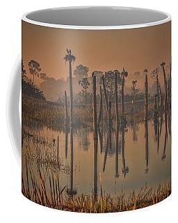 Cool Day At Viera Wetlands Coffee Mug