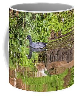 Coot In Green Coffee Mug