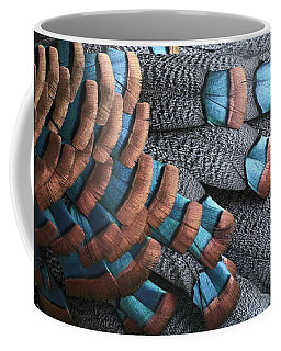 Copper-tipped Ocellated Turkey Feathers Photograph Coffee Mug