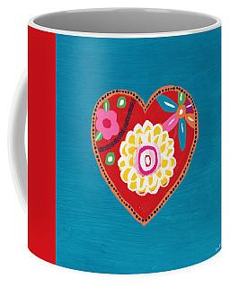 Corazon 3- Art By Linda Woods Coffee Mug