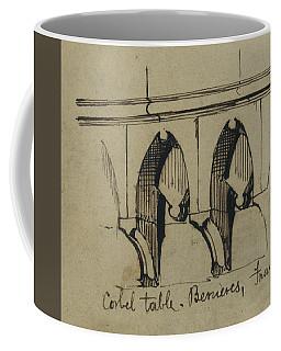 Corbel Table - Benieves, France Coffee Mug