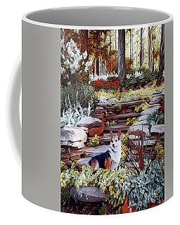 Corgi At Highgarden Coffee Mug
