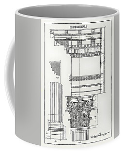 Corinthian Architecture Coffee Mug