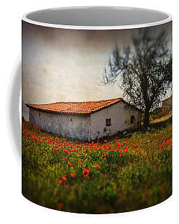 Corn Poppies Coffee Mug