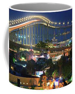 Coronado Bay Bridge Shines Brightly As An Iconic San Diego Landmark Coffee Mug