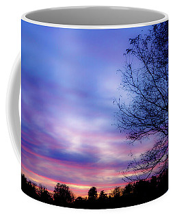 Cotton Candy Sunset In October Coffee Mug