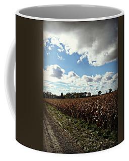 Country Autumn Curves 2 Coffee Mug