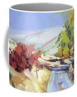 Country Blue Sky Coffee Mug